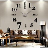 Moderne / Nutidig Andre Wall Clock,Rund Andre 41*13*10cm(16.1*5.1*3.9inch) Innendørs Klokke