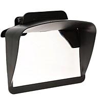 "Universal Plastic Sun Shade Visor for 4.3"" 5"" Inch Car GPS Navigators"