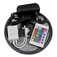 Z®ZDM 5M 300X3528 SMD RGB LED Strip Light 2A EU Power Supply (AC110-240V)