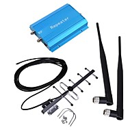 New GSM 900MHz Blue Cell Phone Signal Booster Amplifier YaGi Antenna Kit