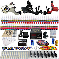 solong tattoo compleet tattoo kit 3 pro machinegeweren 54 inkten voeding voetpedaal naalden grips tips tk355