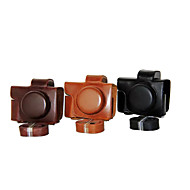 Dengpin PU Leather Camera Case Bag Cover for Olympus E-M10 MARK II EM10 Mark2 (14-42mm EZ lens(Assorted Colors)