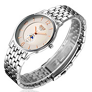 High-End Men's Steel Belt Ultra-Thin Waterproof Watch Quartz Customization Of Leisure Business