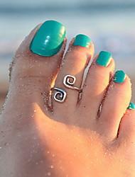 Shixin® Classic Good Luck Silver Alloy Toe Ring(1 Pc)