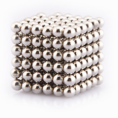 Magnet Toys 216 3mm Magnet Toys / Neodymium Magnet Novelty Executive Toys Puzzle Cube DIY Toys Magnetic Balls Silver Education ToysFor
