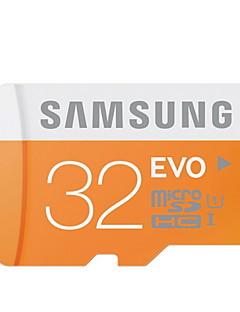 SAMSUNG 32GB כרטיס SD כרטיס TF מיקרו כרטיס זיכרון UHS-I U1 Class10 EVO