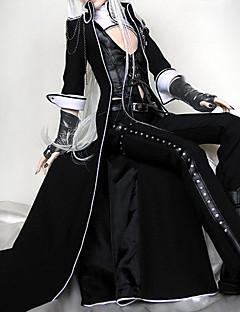 Vampire Viscount BJD Black Punk Lolita Outfit