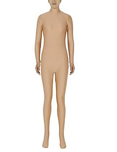 Unisex Zentai Suits Lycra / Spandex Flesh colored Zentai