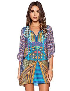 51eeb89d1e7a Γυναικείο Καθημερινά Μπόχο Κομψό στυλ street Φαρδιά Φόρεμα